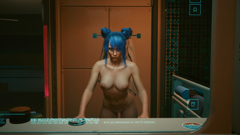Nude screenshots Cyberpunk 2077 05