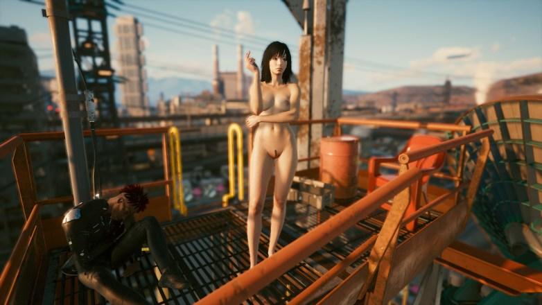 Nudité frontale Cyberpunk 2077 02