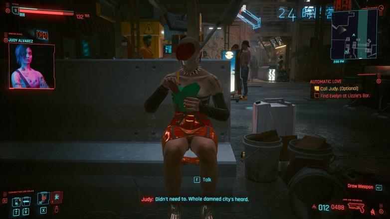 Nudité frontale Cyberpunk 2077 13