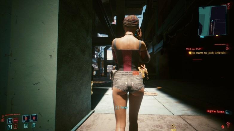 PNJ sexy dans Cyberpunk 2077 01
