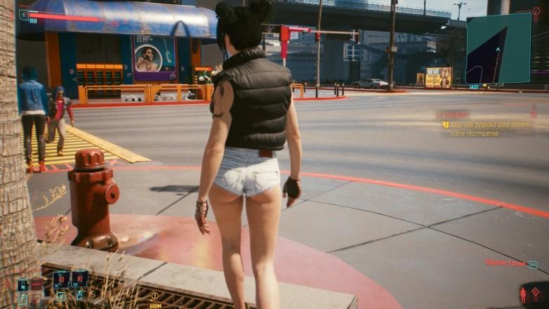 PNJ sexy dans Cyberpunk 2077 02