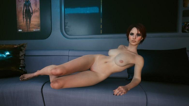 V version porno dans Cyberpunk 2077 06