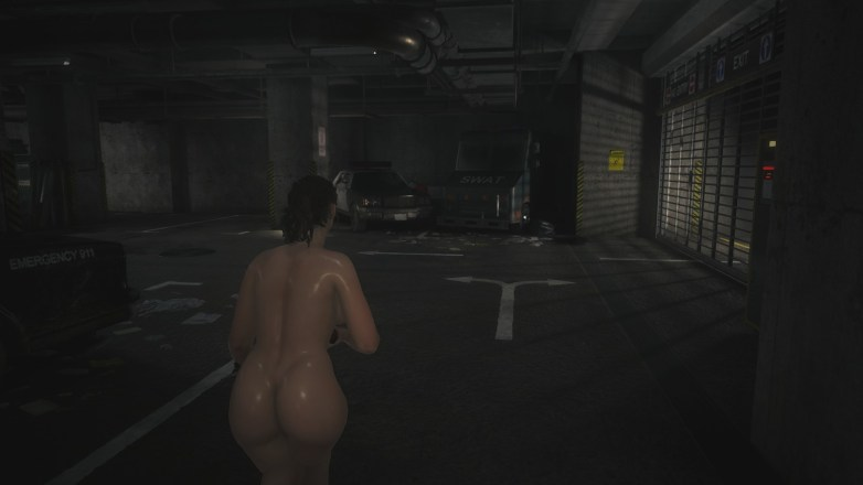 Claire Redfield - Nude Patch Curvy 05