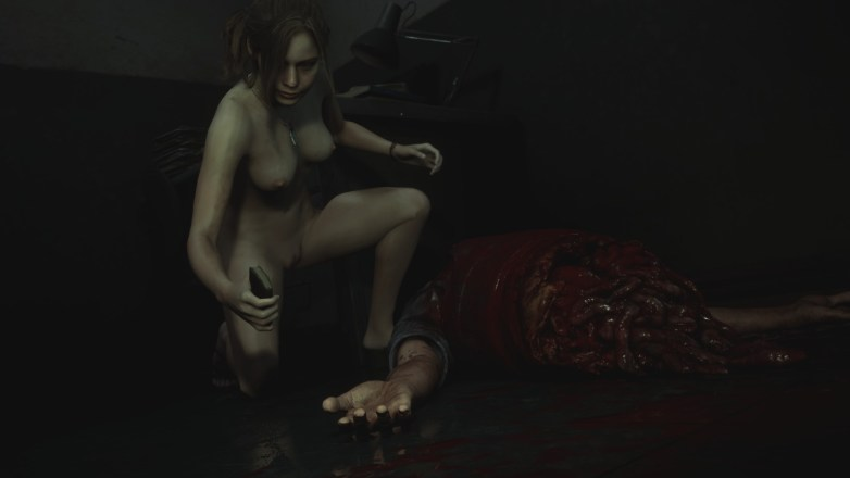 Claire Redfield - Nude Patch Resident Evil 2 Remake 11