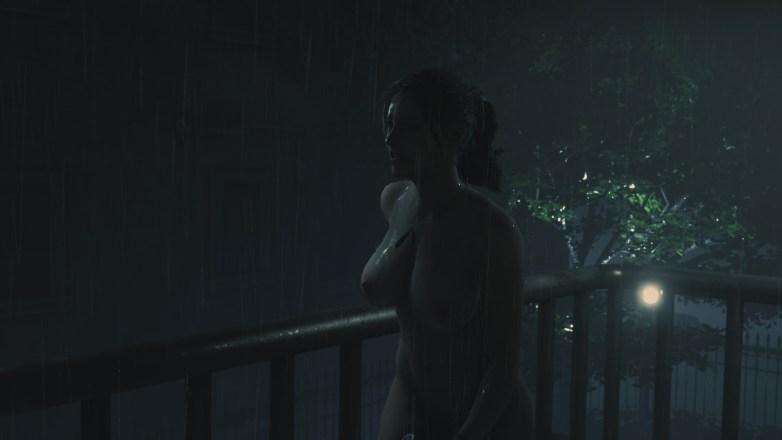 Claire nue dans la campagne Bis de Leon 02