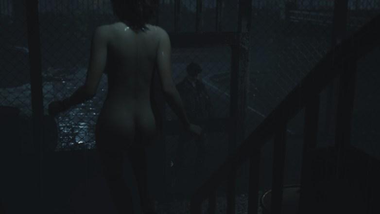 Claire nue dans la campagne Bis de Leon 03