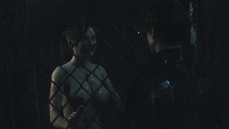 Claire nue dans la campagne Bis de Leon 04