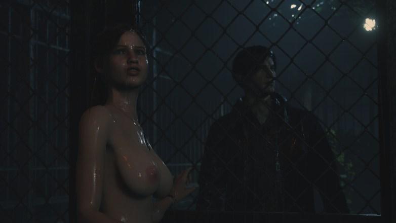 Claire nue dans la campagne Bis de Leon 05