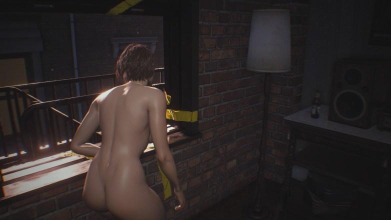 Jill Valentine nue dans Resident Evil 3 Remake 018