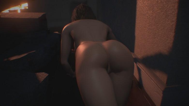 Jill Valentine nue dans Resident Evil 3 Remake 022
