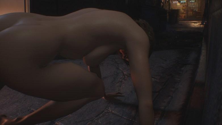 Jill Valentine nue dans Resident Evil 3 Remake 033