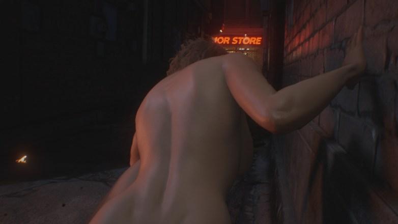 Jill Valentine nue dans Resident Evil 3 Remake 034