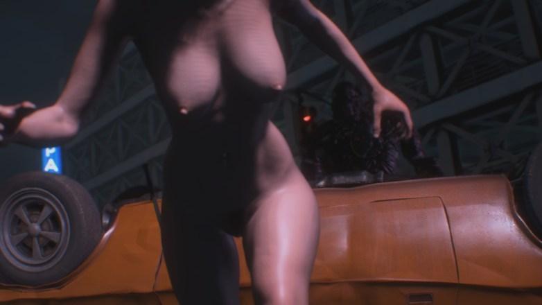 Jill Valentine nue dans Resident Evil 3 Remake 055