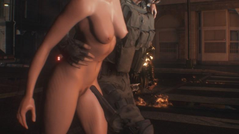 Jill Valentine nue dans Resident Evil 3 Remake 057