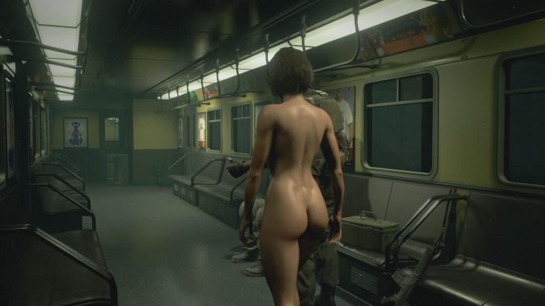 Jill Valentine nue dans Resident Evil 3 Remake 062