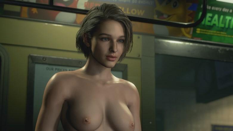 Jill Valentine nue dans Resident Evil 3 Remake 064