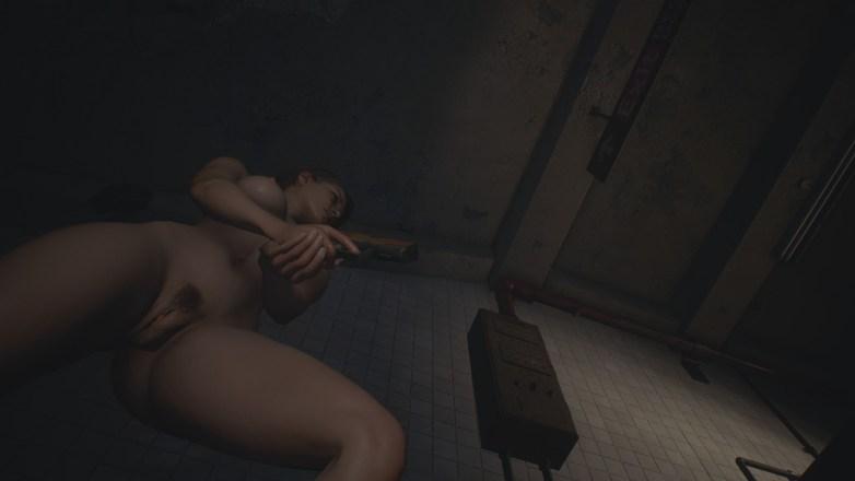 Jill Valentine nue dans Resident Evil 3 Remake 065