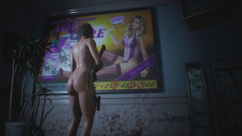 Jill Valentine nue dans Resident Evil 3 Remake 072