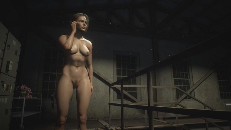 Jill Valentine nue dans Resident Evil 3 Remake 080
