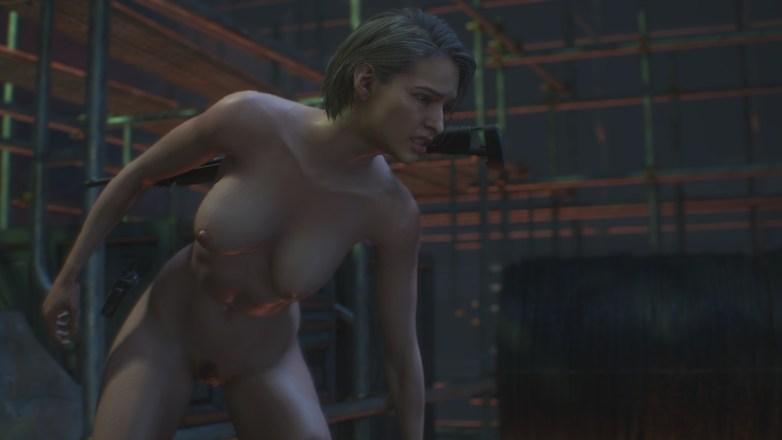 Jill Valentine nue dans Resident Evil 3 Remake 090