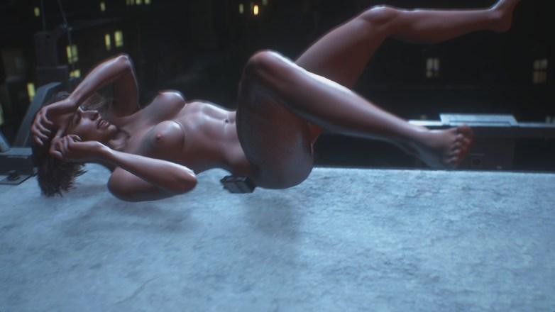 Jill Valentine nue dans Resident Evil 3 Remake 093