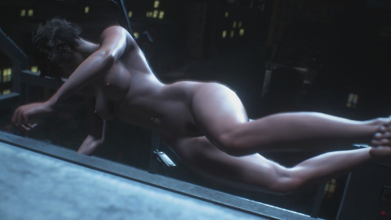 Jill Valentine nue dans Resident Evil 3 Remake 094