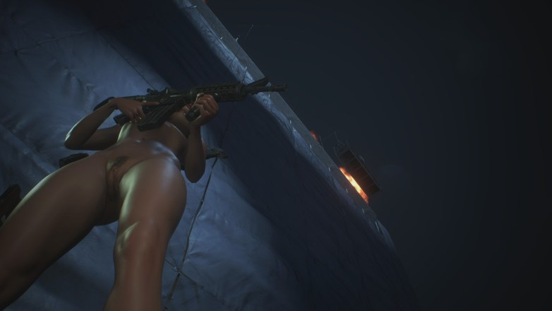 Jill Valentine nue dans Resident Evil 3 Remake 099