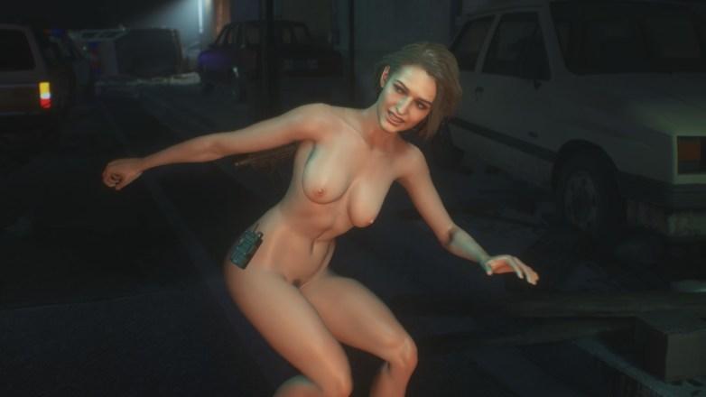 Jill Valentine nue dans Resident Evil 3 Remake 102