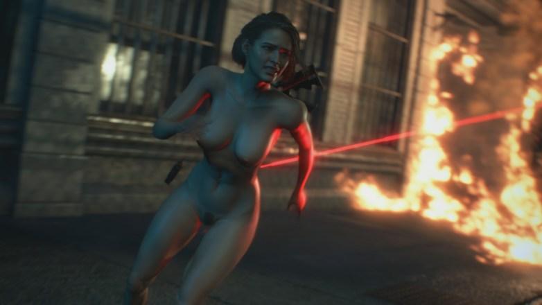 Jill Valentine nue dans Resident Evil 3 Remake 104