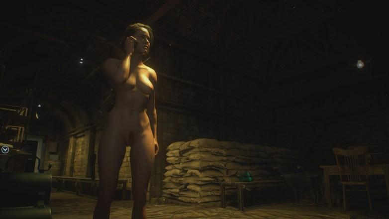 Jill Valentine nue dans Resident Evil 3 Remake 107