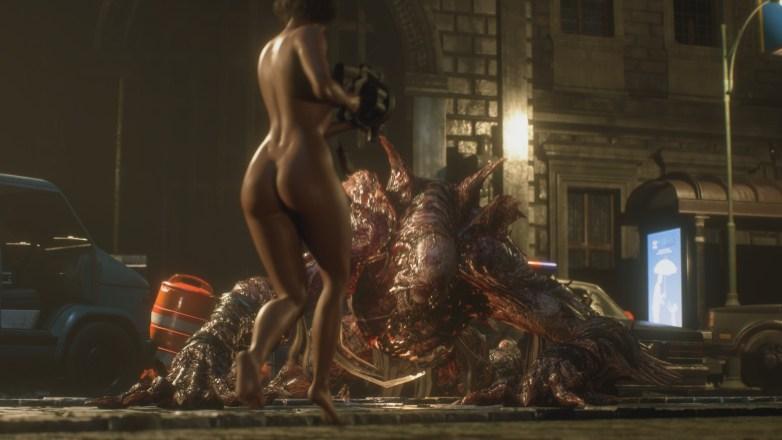 Jill Valentine nue dans Resident Evil 3 Remake 116