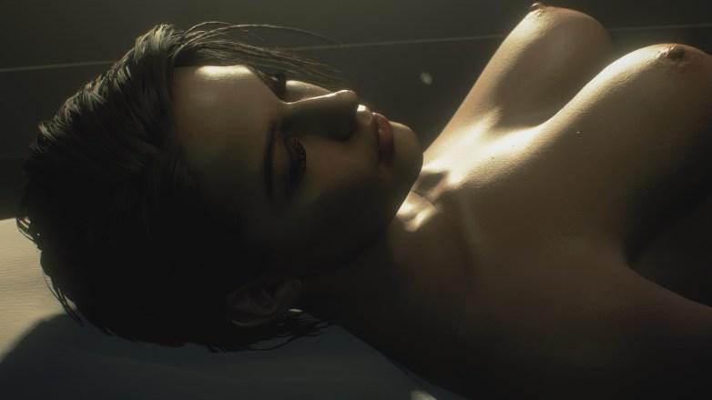 Jill Valentine nue dans Resident Evil 3 Remake 124