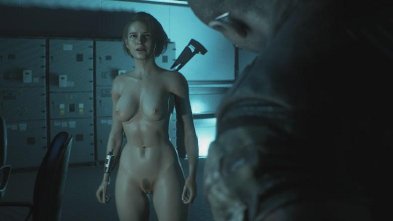 Jill Valentine nue dans Resident Evil 3 Remake 127