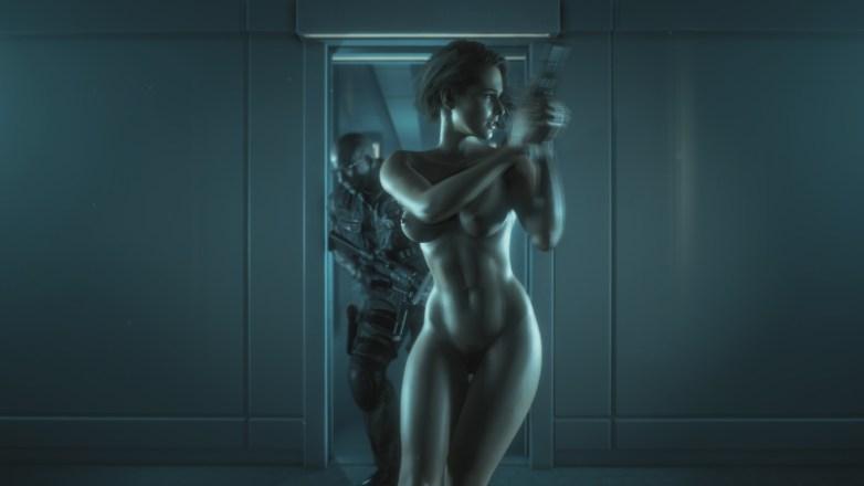 Jill Valentine nue dans Resident Evil 3 Remake 129