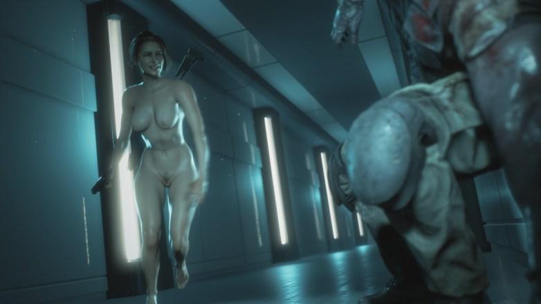Jill Valentine nue dans Resident Evil 3 Remake 130