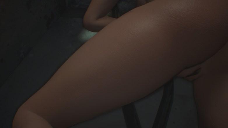 Jill Valentine nue dans Resident Evil 3 Remake 139