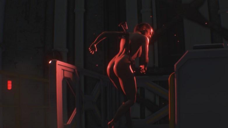 Jill Valentine nue dans Resident Evil 3 Remake 142
