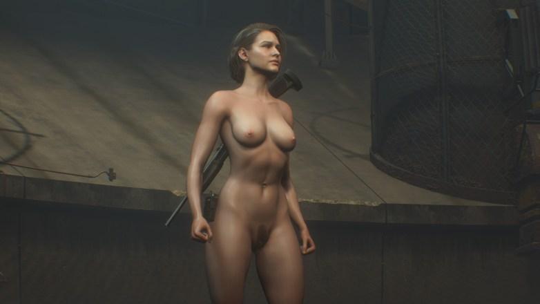 Jill Valentine nue dans Resident Evil 3 Remake 148