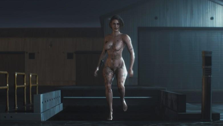 Jill Valentine nue dans Resident Evil 3 Remake 151