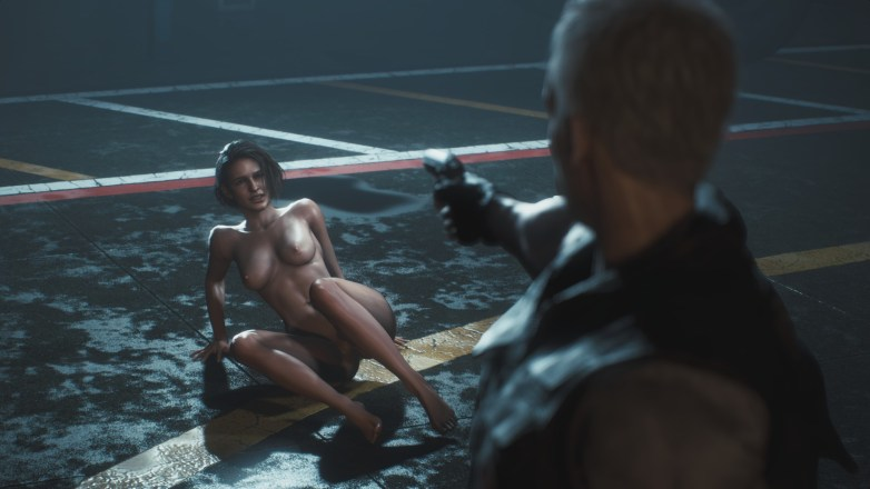 Jill Valentine nue dans Resident Evil 3 Remake 153