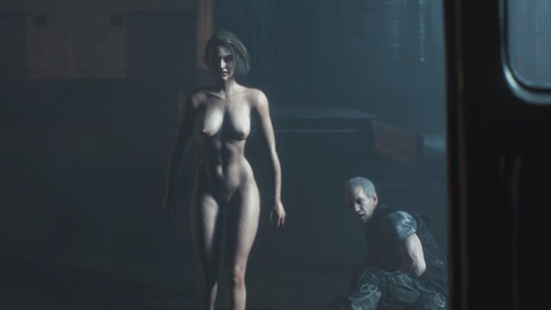 Jill Valentine nue dans Resident Evil 3 Remake 155