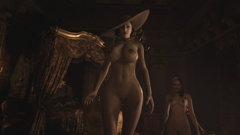Alcina Dimitrescu nue dans Resident Evil Village 03