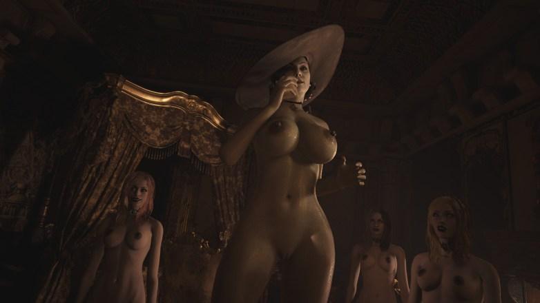 Alcina Dimitrescu nue dans Resident Evil Village 06