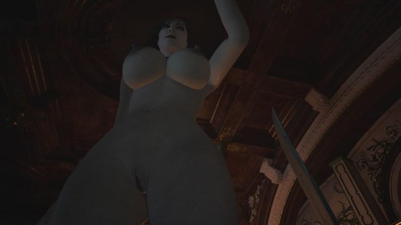 Alcina Dimitrescu nue dans Resident Evil Village 10