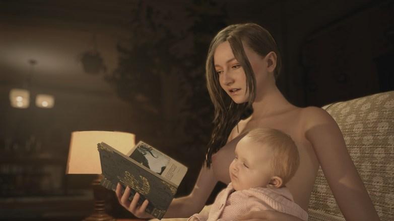 Mia Winters nue dans Resident Evil Village 01