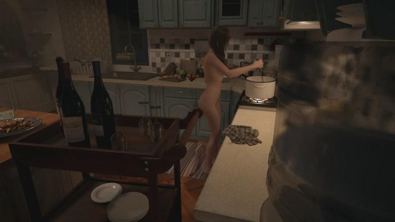 Mia Winters nue dans Resident Evil Village 07