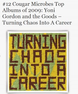Yoni Gordon and the goods - Turning Chaos Into A Career