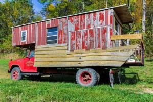Fire Truck Camper
