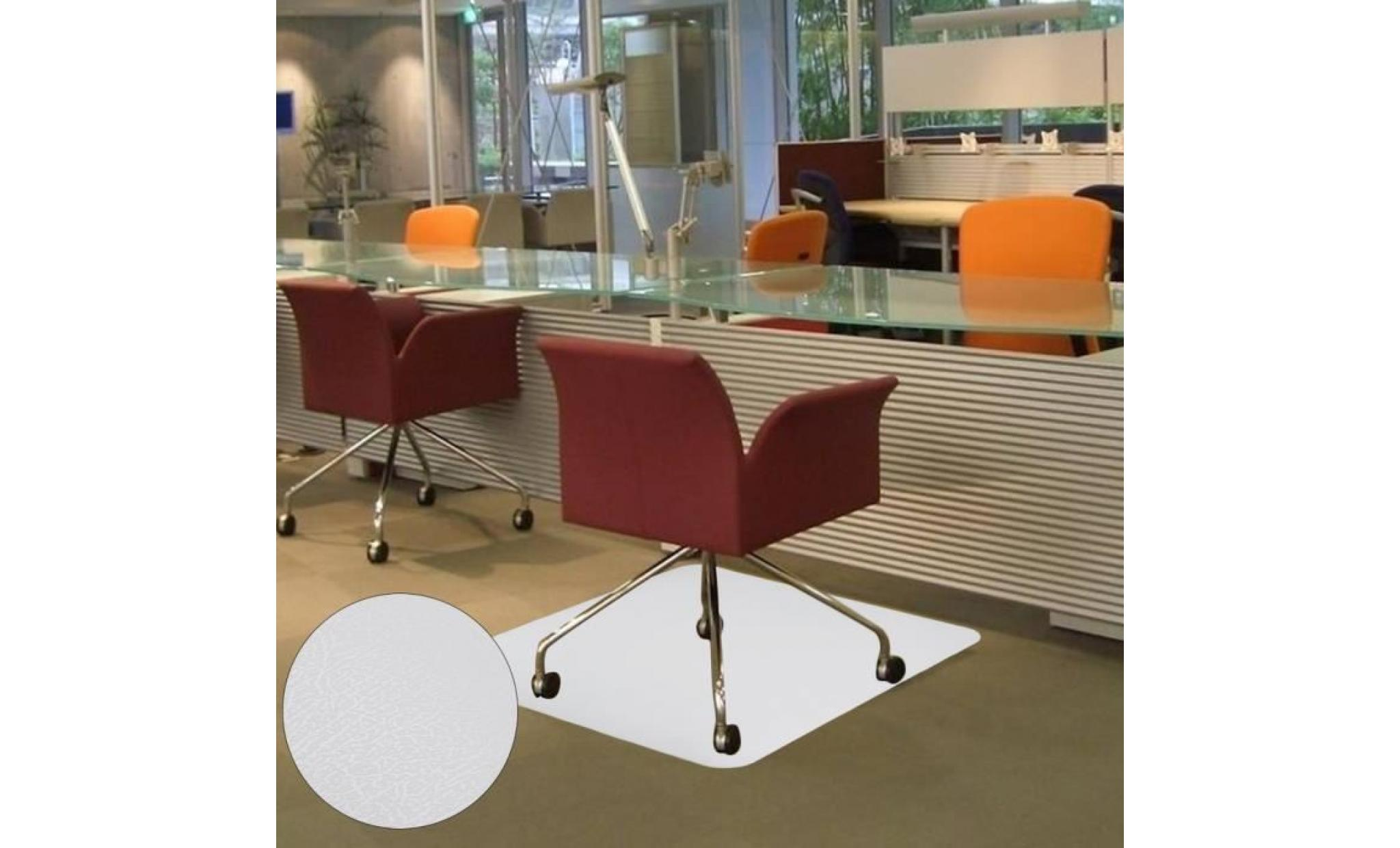 120x120cm tapis de protection tapis de sol chaise de bureau coussin antiderapant achat vente fauteuil de bureau pas cher couleur et design fr