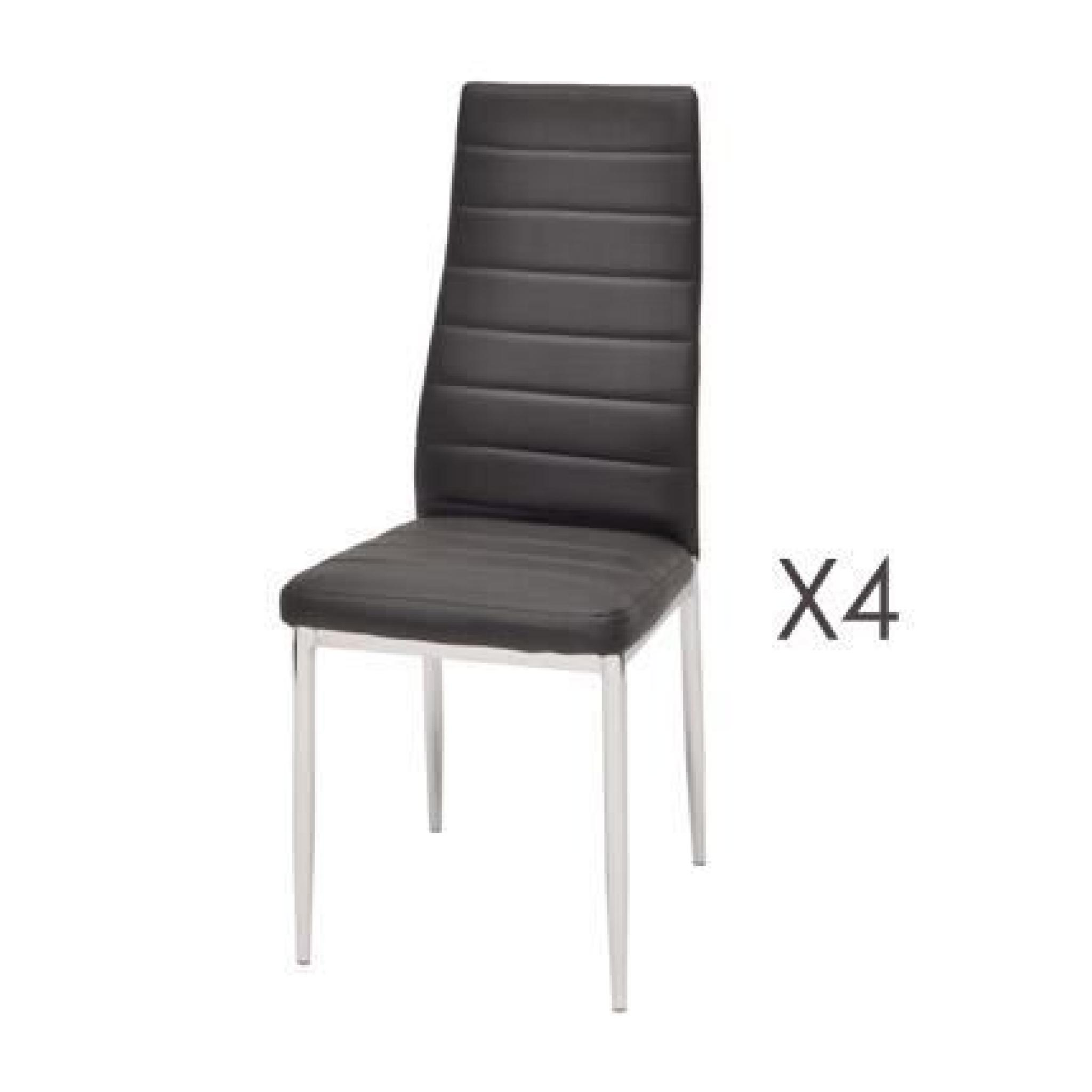 Lot 4 Chaises Pas Cher Maison Design